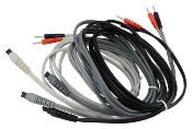 CABLES BIPOLAIRES CEFAR PHYSIO 4    lot de 4