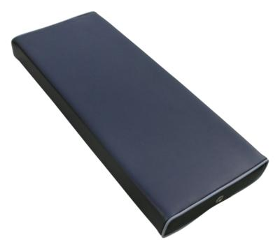 coussin table de massage rectangle hauteur 5 cm noir
